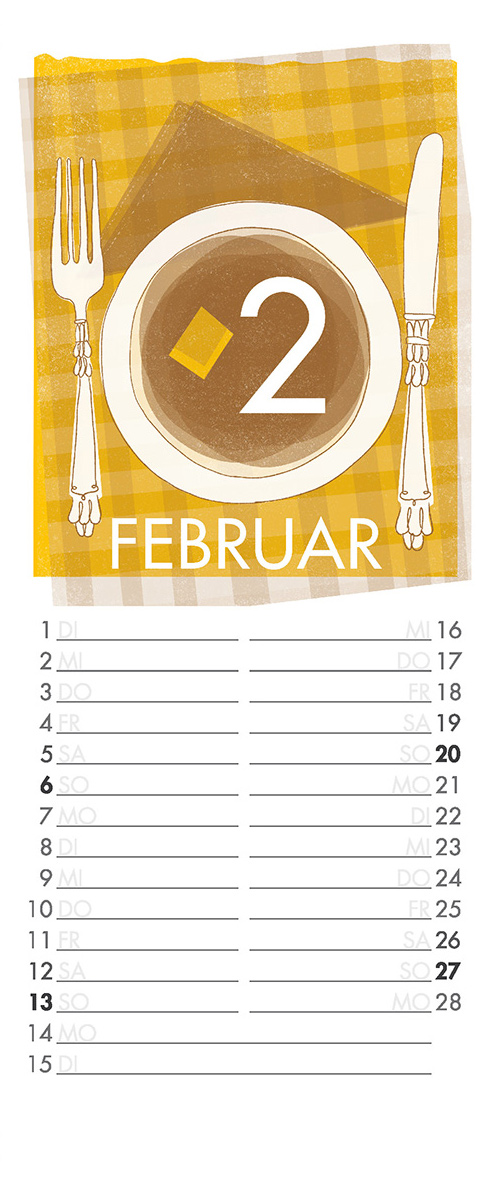 Februar - Aus meinem Kalender 2011