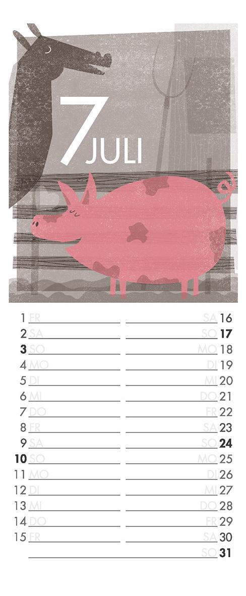 Juli - Aus meinem Kalender 2011