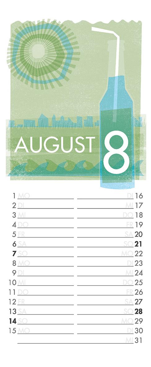 August - Aus meinem Kalender 2011