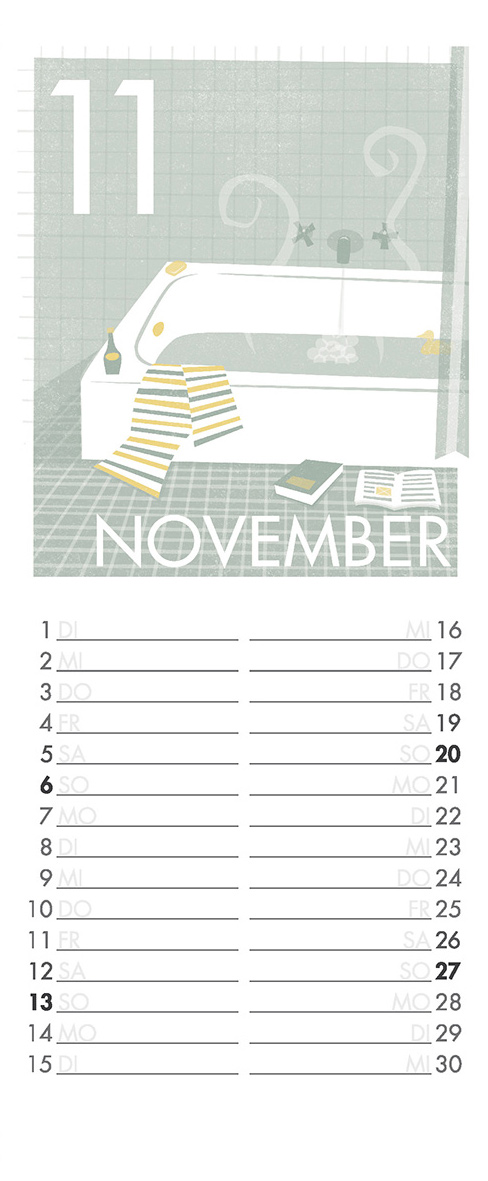 November - Aus meinem Kalender 2011