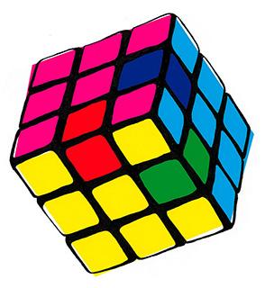 CMYK cube